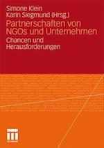 Partnerschaften Von Ngos Und Unternehmen