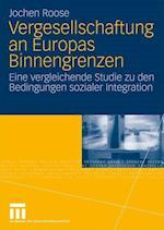 Vergesellschaftung an Europas Binnengrenzen af Jochen Roose
