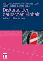 Diskurse Der Deutschen Einheit