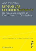 Erneuerung Der Interessetheorie af Anke Grotl Schen, Anke Grotluschen