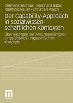 Der Capability-Approach in Sozialwissenschaftlichen Kontexten