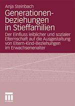 Generationenbeziehungen in Stieffamilien af Anja Steinbach