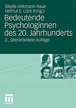 Bedeutende Psychologinnen Des 20. Jahrhunderts