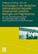 Psychologie in Der Deutschen Demokratischen Republik af Wolfgang Schonpflug, Wolfgang Sch Npflug, Gerd L. Er