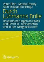 Durch Luhmanns Brille