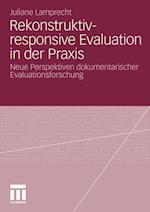 Rekonstruktiv-Responsive Evaluation in Der Praxis af Juliane Engel, Juliane Lamprecht