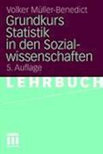 Grundkurs Statistik in Den Sozialwissenschaften af Volker M. Ller-Benedict, Volker Muller-Benedict