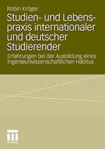 Studien- Und Lebenspraxis Internationaler Und Deutscher Studierender af Robin Kroger, Robin Kr Ger