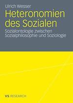 Heteronomien Des Sozialen af Ulrich Wesser