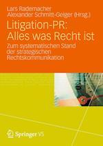 Litigation-pr Alles Was Recht Ist af Lars Rademacher