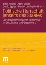 Politische Herrschaft Jenseits Des Staates