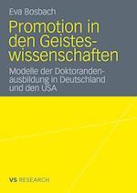Promotion in Den Geisteswissenschaften af Eva Bosbach
