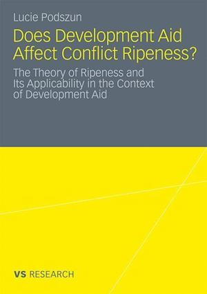 Does Development Aid Affect Conflict Ripeness?