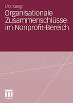 Organisationale Zusammenschlusse Im Nonprofit-Bereich af Urs Kaegi