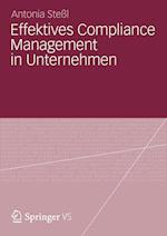 Effektives Compliance Management in Unternehmen af Antonia Stel