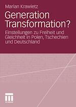 Generation Transformation? af Marian Krawietz