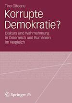 Korrupte Demokratie? af Tina Olteanu