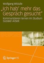 'Ich Hab' Mehr Das Gesprach Gesucht' af Wolfgang Widulle