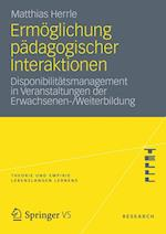 Ermoglichung Padagogischer Interaktionen af Matthias Herrle
