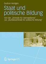 Staat Und Politische Bildung af Gudrun Hentges