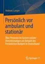 Personlich VOR Ambulant Und Stationar af Andreas Langer
