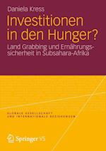 Investitionen in Den Hunger? af Daniela Kress