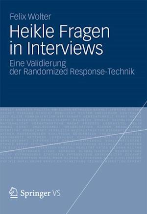 Heikle Fragen in Interviews af Felix Wolter