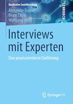 Interviews Mit Experten af Wolfgang Menz, Alexander Bogner, Beate Littig