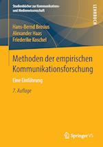 Methoden Der Empirischen Kommunikationsforschung af Friederike Koschel, Alexander Haas, Hans-Bernd Brosius