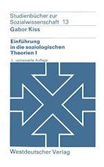 Einfuhrung in die Soziologischen Theorien