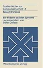 Zur Theorie Sozialer Systeme af Talcott Parsons