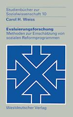 Evaluierungsforschung af Carol H. Weiss