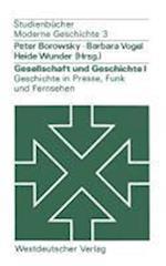 Gesellschaft Und Geschichte I af Peter Borowsky, Heide Wunder, Barbara Vogel