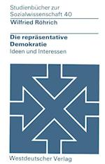 Die Reprasentative Demokratie af Wilfried Reohrich, Wilfried Rohrich