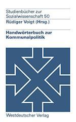 Handworterbuch Zur Kommunalpolitik
