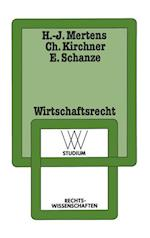 Wirtschaftsrecht af Hans-Joachim Mertens