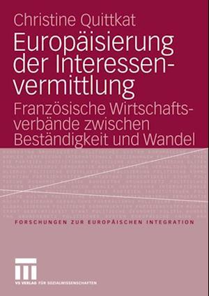 Europaisierung der Interessenvermittlung