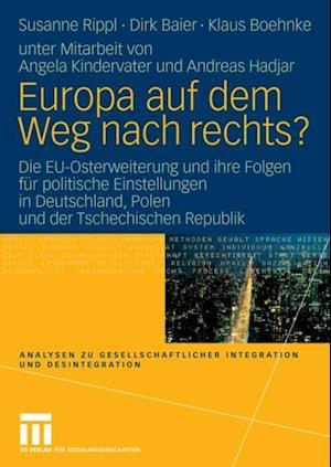 Europa auf dem Weg nach rechts? af Klaus Boehnke, Susanne Rippl, Dirk Baier