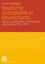 Staatliche Sozialpolitik in Deutschland af Eckart Reidegeld