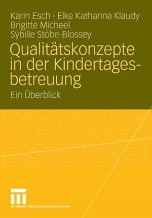 Qualitatskonzepte in der Kindertagesbetreuung