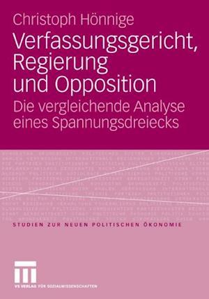 Verfassungsgericht, Regierung und Opposition af Christoph Honnige