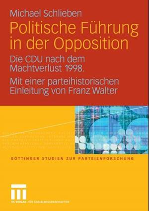 Politische Fuhrung in der Opposition