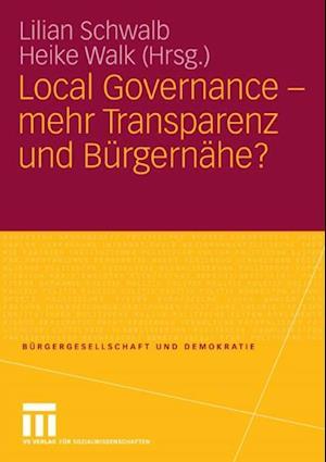 Local Governance - mehr Transparenz und Burgernahe?