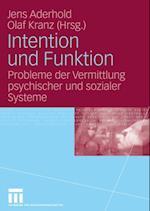 Intention und Funktion
