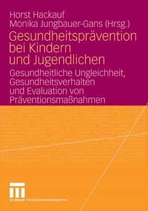 Gesundheitspravention bei Kindern und Jugendlichen