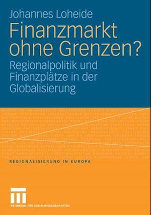Finanzmarkt ohne Grenzen? af Johannes Loheide