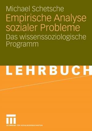 Empirische Analyse sozialer Probleme