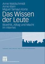 Das Wissen der Leute af Anne Klein, Anne Waldschmidt, Miguel Tamayo