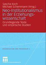 Neo-Institutionalismus in der Erziehungswissenschaft