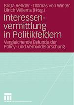 Interessenvermittlung in Politikfeldern